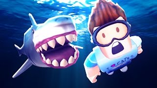 SHARK ATTACK IN ROBLOX
