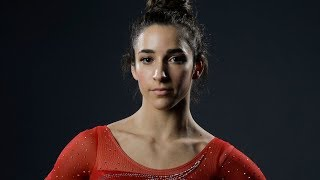Aly Raisman posed nude for the
