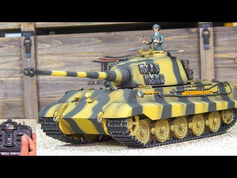Xxx Mp4 UNBOXING RC SCALE MODEL RTR TANK KING TIGER TIGER II H TORRO IR PROEDITION FIRST TEST 3gp Sex