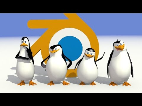 The Penguins in Blender - Short fan movie by Peter Hidi