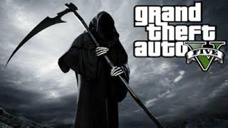GTA 5 Mods - GRIM REAPER MOD! (GTA 5 PC Mods Gameplay)