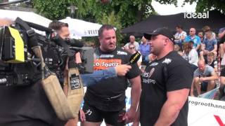 Strong Man Champions League in Zelhem (12-06-2016)