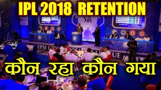 IPL Retention 2018 : Virat Kohli gets 17cr, MS Dhoni & Rohit Sharma get 15cr each | वनइंडिया हिन्दी