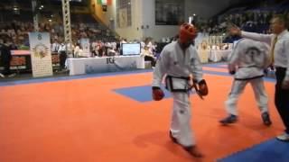 Alejo Vatrano Vs Competidor Puerto Rico 2° Combate 1° Round Jesolo, Itala 2015