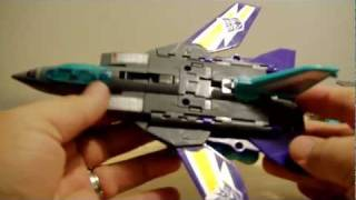 TRANSFORMERS G1 Dreadwind & Darkwing (DREADWING) toy review