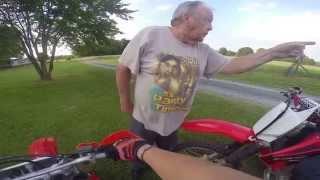 Old Man Threatening Dirtbike Rider's (Episode - 7)
