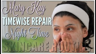 Mary Kay Timewise Repair Volu Firm  Night Time Routine |