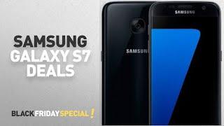 Top Black Friday Samsung Galaxy S7 Deals: Samsung Galaxy S7 SM-G930A Unlocked Smartphone, (Black