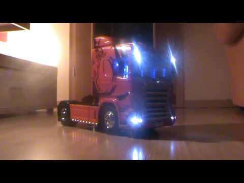 Tamiya Scania Truck die fertige Version
