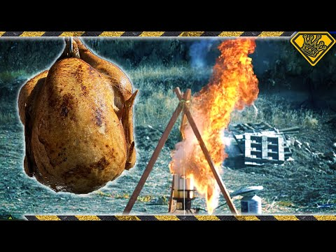 Why Do Some Turkeys Ignite in a Deep Fryer