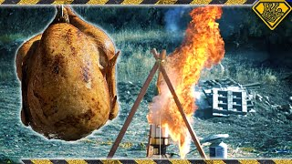Why Do Some Turkeys Ignite in a Deep Fryer?