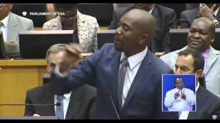 DA's John Steenhuisen forced to leave Parliament after clashing with Chair Raseriti Tau