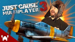 WORST PILOTS EVER! (Just Cause 3 Multiplayer Mod w/ Ze, Chilled, & GaLm)