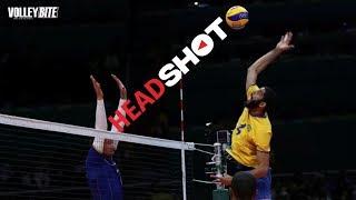 Top 10 Head Shot | Crash in Volleyball