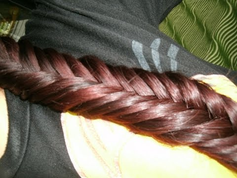 How To Fish Tail Braid Tutorial Easy Fish Tail Braid