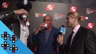KURT ANGLE on his first WWE 2K appearance in WWE 2K18! — Expansion Pack