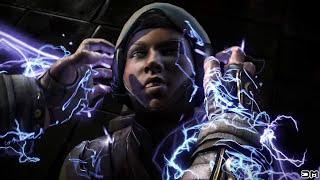 Mortal Kombat XL All Fatalities on Cyber Jacqui Briggs