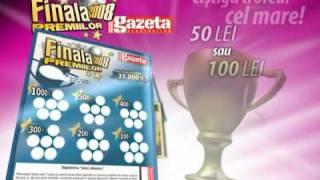Gazeta (Romania) newspaper game TV advert