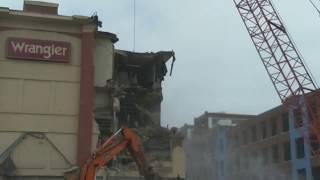 VF Outlet Center - Red Building demolition (6-1-18 update)