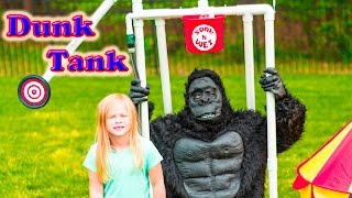 ASSISTANT DUNK Tank Game The Gorilla Vs The Asistant Video