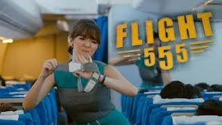 FILM KOMEDI INDONESIA TERBARU 2018 FLIGHT 555 disutradarai oleh Raymond Handaya