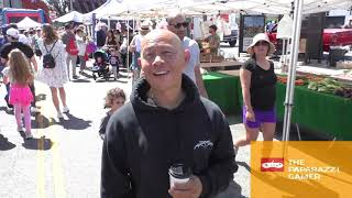Ernie Reyes Jr gives his picks on the Justin Bieber vs Tom Cruise fight shopping at Farmer's Market