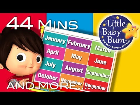 Xxx Mp4 Little Baby Bum Months Of The Year Song Nursery Rhymes For Babies Songs For Kids 3gp Sex