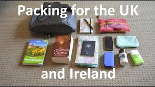 TRAVEL TIPS: Packing for a roadtrip in the UK and Ireland