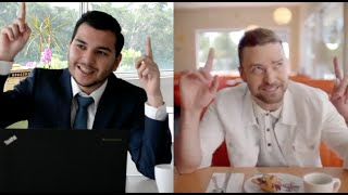 Split screen - CAN'T STOP THE FEELING! - Pan Asia Logistics (by Justin Timberlake)