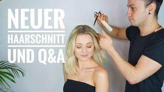 Neuer Haarschnitt und eure Fragen an den Friseur   OlesjasWelt
