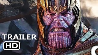 AVENGERS 4 ENDGAME Thanos Says Avengers Lets Finish This Trailer (2019)