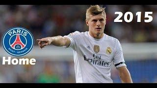 Toni Kroos vs PSG | Real Madrid vs PSG 1-0 | 2015/16 (CL home)