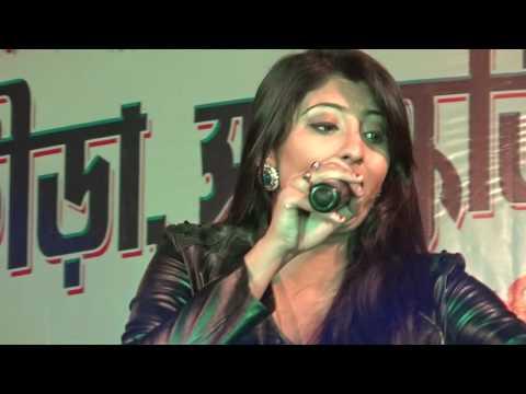 Tumi Amar Noyon Go l Beautiful Singing By PAYAL DEY l On Our 2K17 Madhab Pur Yubak Sangha's Program.