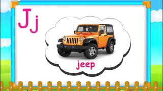 ABC Phonics, Letter Sounds with 6 words , Learn English Phonics, Animated Video For Children