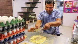BOILED EGG CRUSHED OMELETTE, CHEESE OMELETTE & EGG GOTALA | Egg Street Food India