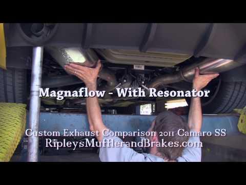 watch 9 Camaro Exhaust Comparisons -- 9 Configurations