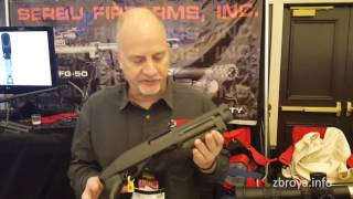 SHOT Show 2016: BFG-50A and Super-Shorty from Serbu Firearms