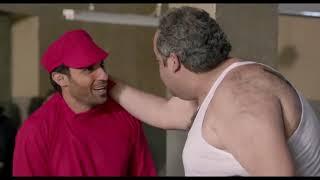 مسلسل ريح المدام - مشهد كوميدي سلطان يتخانق مع بلطجي السجن عشان زتونة
