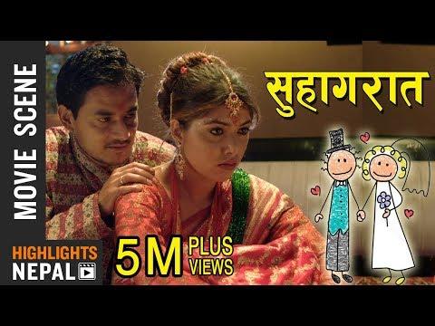 Xxx Mp4 Honeymoon Night सुहागरात Nepali Movie AJHAI PANI Puja Sharma Alok Nembang 3gp Sex