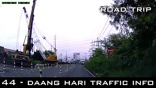 Road Trip #44 - Traffic Update: Daang Hari - Aguinaldo Highway Intersection construction works