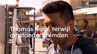 Thomas schoot te hulp, omstanders filmden: 'Walgelijk en goedkoop'