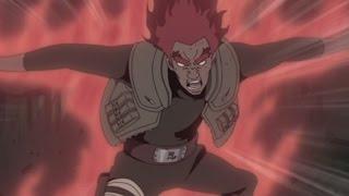 Eight Gates Might Guy vs Sage of Six Paths Madara Uchiha - English Dub - Naruto Shippuden
