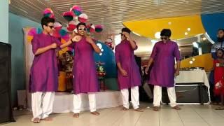 Dhakar pola very very smart song dance Rimu apus holud dance.....😊