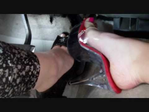 Beautiful East Coast Girls putting the Pedal to the Metal Pedal Pumping Foot Orgy