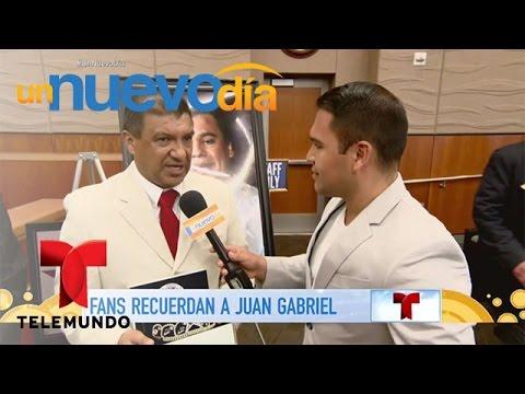 Las Vegas ya tiene su día dedicado a Juan Gabriel Un Nuevo Día Telemundo
