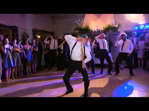 Brian's Surprise Justin Bieber Wedding Dance for Emily