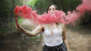Pink Smoke Flare (Indian version)