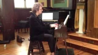 Artis Wodehouse plays Mack the Knife on a Magnus Chord Organ