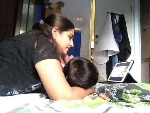 Masti with my sweet son