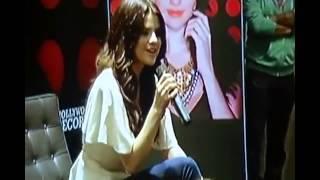 Selena Gomez Singing Acapella